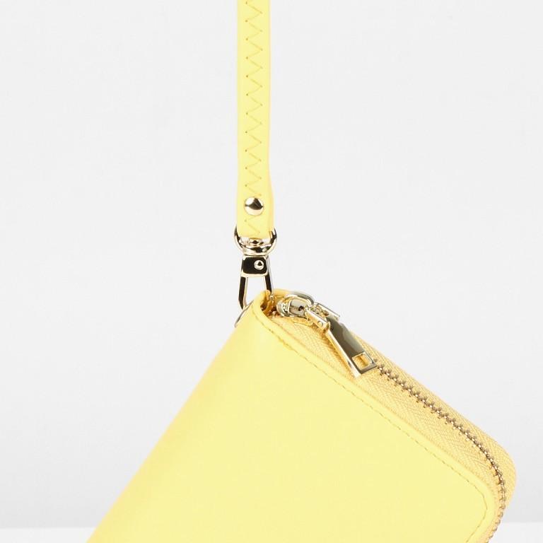 Geldbörse Smilla Lemon Gold, Farbe: gelb, Marke: Seidenfelt, EAN: 4251634251009, Abmessungen in cm: 19.0x9.5x2.5, Bild 4 von 5