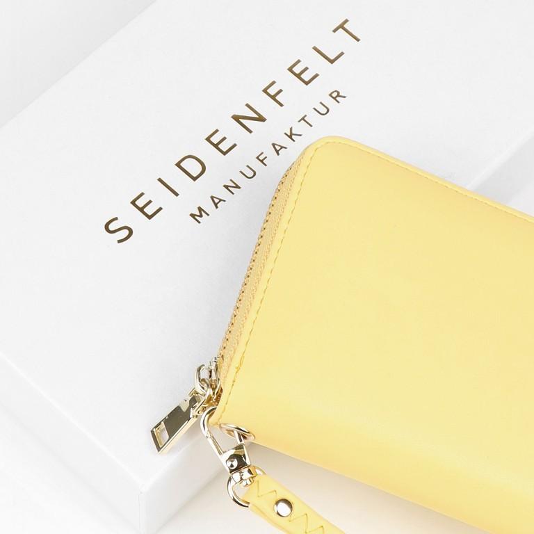 Geldbörse Smilla Lemon Gold, Farbe: gelb, Marke: Seidenfelt, EAN: 4251634251009, Abmessungen in cm: 19.0x9.5x2.5, Bild 5 von 5