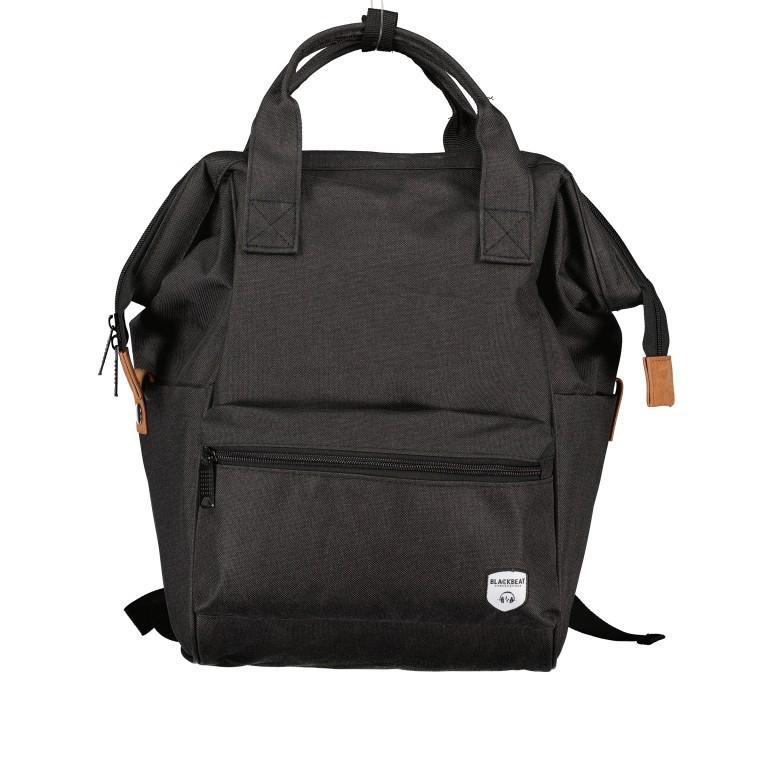 Fahrradtasche Rucksack mit Gepäckträgerbefestigung Black, Farbe: schwarz, Marke: Blackbeat, EAN: 8720088706978, Abmessungen in cm: 25.0x35.0x15.0, Bild 1 von 9