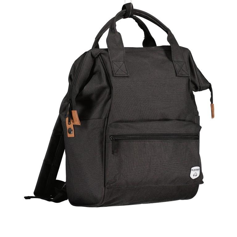 Fahrradtasche Rucksack mit Gepäckträgerbefestigung Black, Farbe: schwarz, Marke: Blackbeat, EAN: 8720088706978, Abmessungen in cm: 25.0x35.0x15.0, Bild 2 von 9