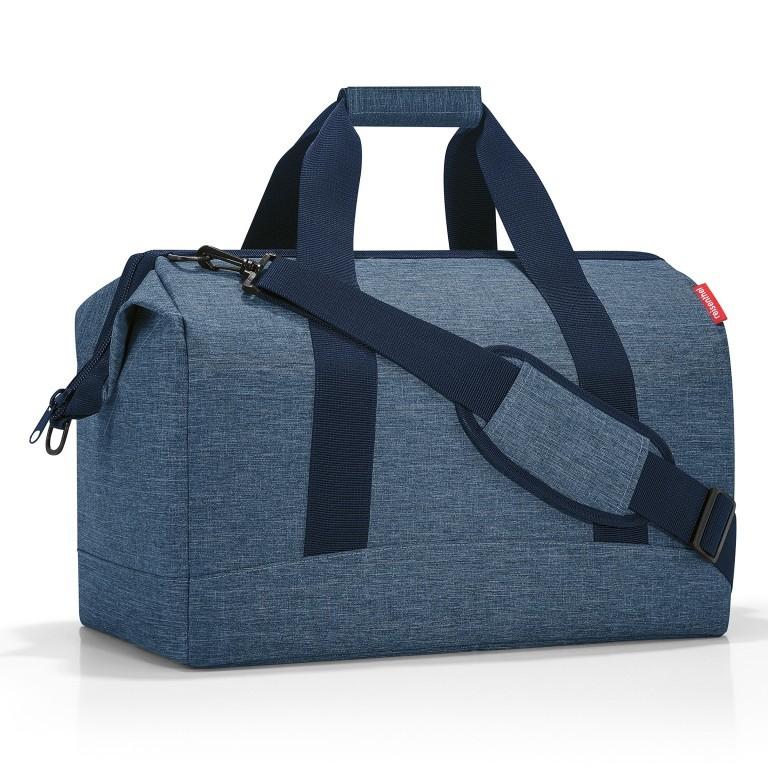 Reisetasche Allrounder L, Farbe: schwarz, anthrazit, grau, blau/petrol, braun, cognac, taupe/khaki, grün/oliv, rot/weinrot, orange, gelb, beige, weiß, bunt, Marke: Reisenthel, Abmessungen in cm: 48.0x39.5x29.0  , Bild 1 von 2