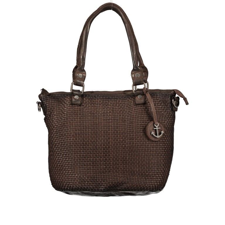 Shopper Soft-Weaving Soraya SW.10500 Chocolate Brown, Farbe: braun, Marke: Harbour 2nd, EAN: 4046478051782, Abmessungen in cm: 33.5x26.0x12.5, Bild 1 von 10
