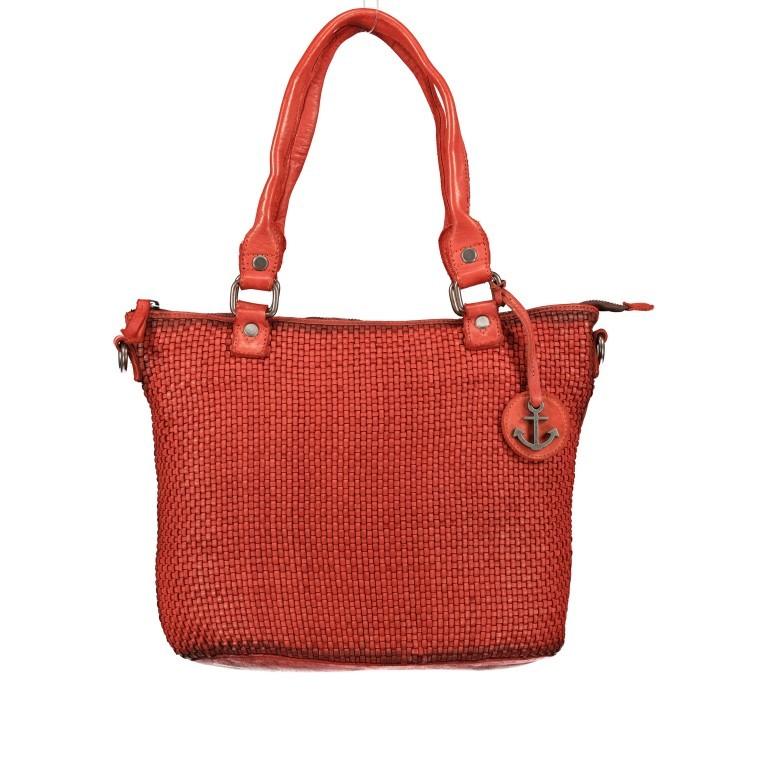 Shopper Soft-Weaving Soraya SW.10500 Sparkling Lava, Farbe: orange, Marke: Harbour 2nd, EAN: 4046478051799, Abmessungen in cm: 33.5x26.0x12.5, Bild 1 von 10