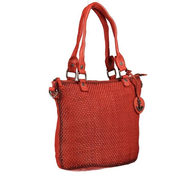 Shopper Soft-Weaving Soraya SW.10500 Sparkling Lava, Farbe: orange, Marke: Harbour 2nd, EAN: 4046478051799, Abmessungen in cm: 33.5x26.0x12.5, Bild 2 von 10