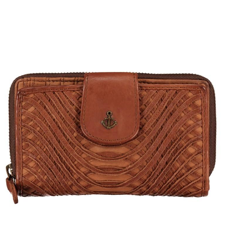 Geldbörse New-Lines Odele SL.12477 Charming Cognac, Farbe: cognac, Marke: Harbour 2nd, EAN: 4046478054752, Abmessungen in cm: 15.0x9.5x2-5, Bild 1 von 5