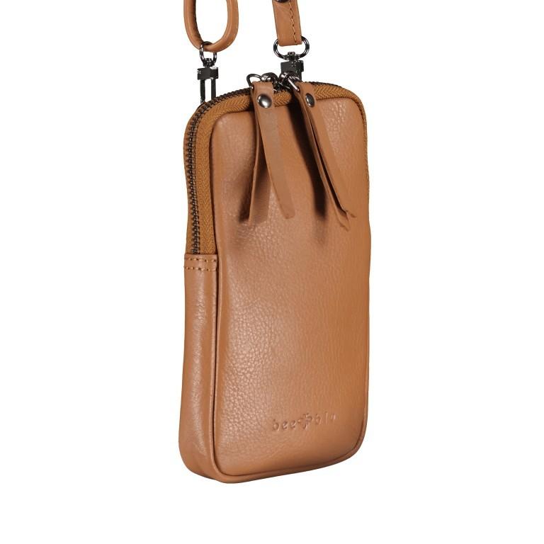 Handytasche Bini Cognac, Farbe: cognac, Marke: Bee Blu, EAN: 4046478054103, Abmessungen in cm: 10.5x17.5x1.8, Bild 2 von 6