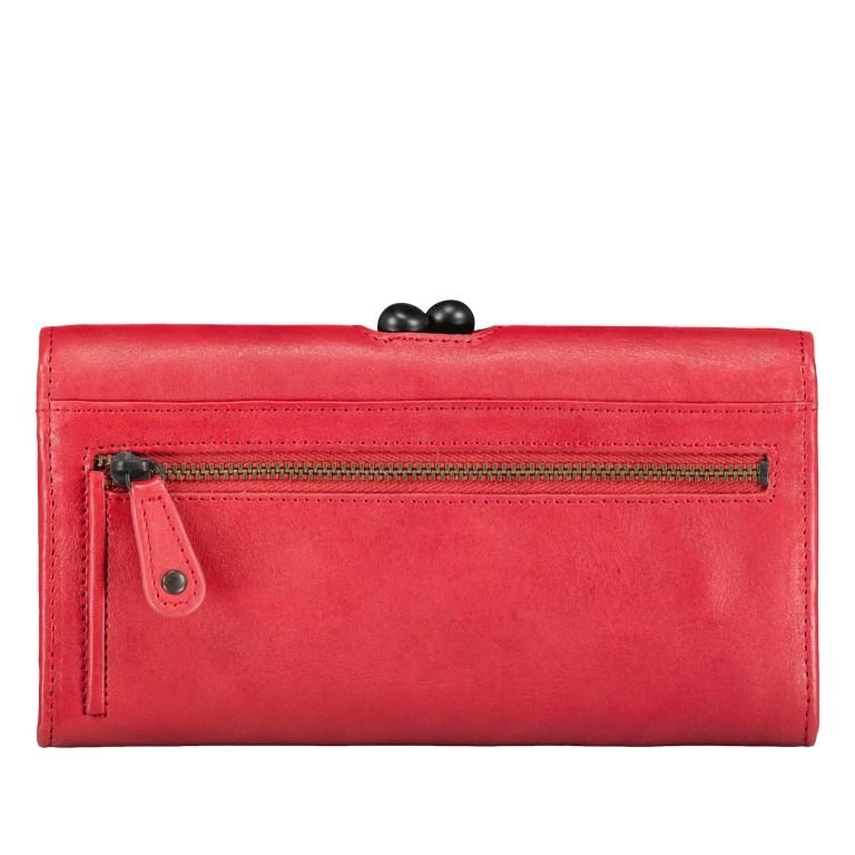 Geldbörse Grandma's Luxury Club Stella mit Bügelverschluss Crimson Red, Farbe: rot/weinrot, Marke: Aunts & Uncles, EAN: 4250394967014, Abmessungen in cm: 19.0x10.0x3.0, Bild 3 von 5