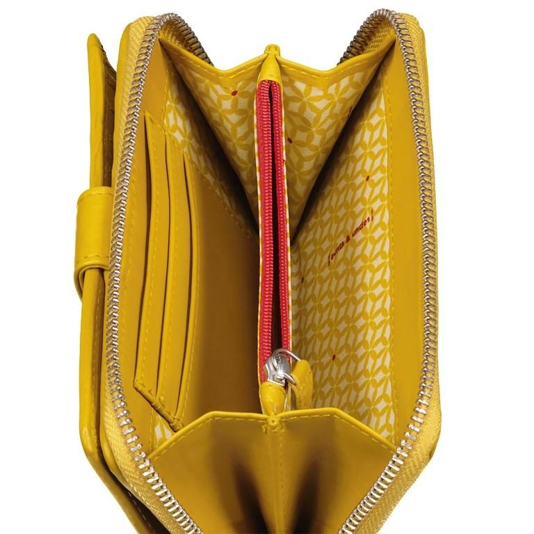 Geldbörse Jamie's Orchard Cactus Lemon, Farbe: gelb, Marke: Aunts & Uncles, EAN: 4250394968462, Abmessungen in cm: 10.0x16.0x2.5, Bild 5 von 5