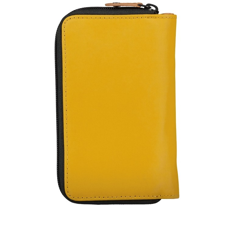 Geldbörse Japan Mishima Arrowwood, Farbe: gelb, Marke: Aunts & Uncles, EAN: 4250394969483, Abmessungen in cm: 10.5x17.5x3.5, Bild 2 von 4