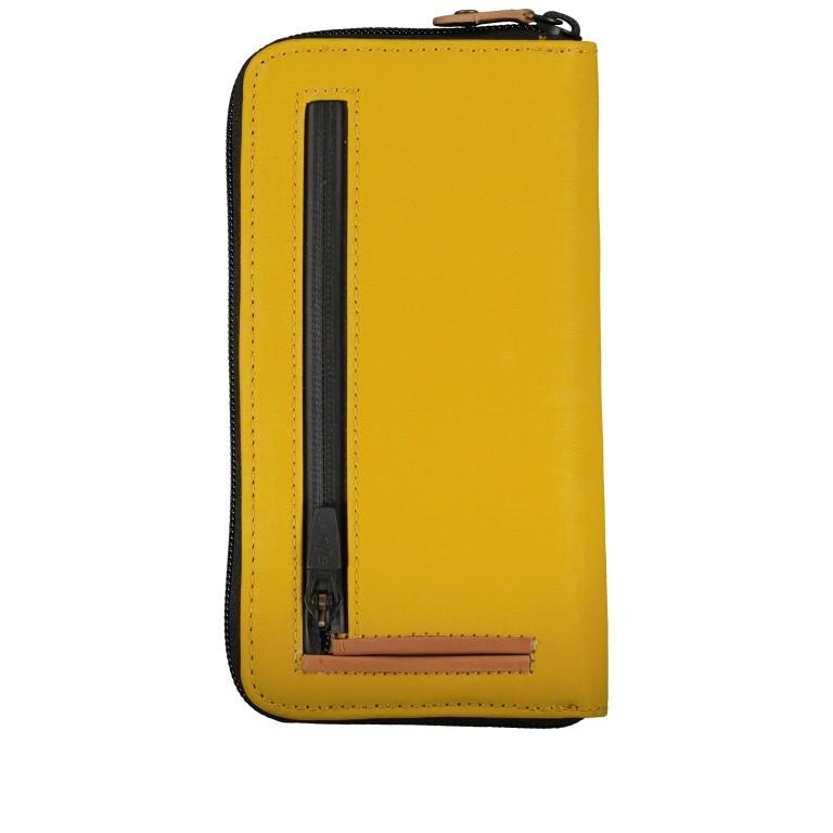Geldbörse Japan Shibata mit RFID-Schutz Arrowwood, Farbe: gelb, Marke: Aunts & Uncles, EAN: 4250394969704, Abmessungen in cm: 10.0x20.0x2.5, Bild 2 von 4