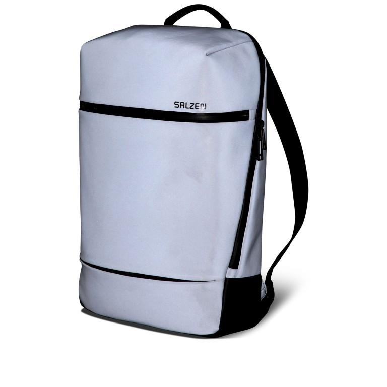 Rucksack Savvy Limited Edition Reflective Grey, Farbe: grau, Marke: Salzen, EAN: 4057081087747, Abmessungen in cm: 29.0x47.0x14.0, Bild 2 von 15