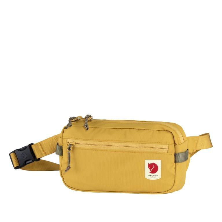 Gürteltasche High Coast Hip Pack Ochre, Farbe: gelb, Marke: Fjällräven, EAN: 7323450689735, Abmessungen in cm: 21.0x12.0x6.0, Bild 1 von 10