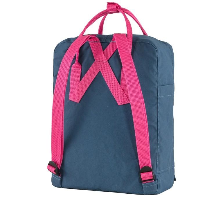 Rucksack Kånken Royal Blue Flamingo Pink, Farbe: blau/petrol, Marke: Fjällräven, EAN: 7323450689810, Abmessungen in cm: 27.0x38.0x13.0, Bild 3 von 15