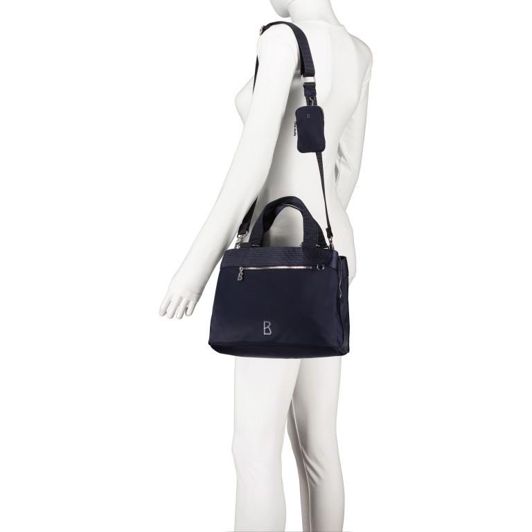 Handtasche Verbier Play Lois Dark Blue, Farbe: blau/petrol, Marke: Bogner, EAN: 4053533931439, Abmessungen in cm: 28.5x20.0x12.0, Bild 5 von 7