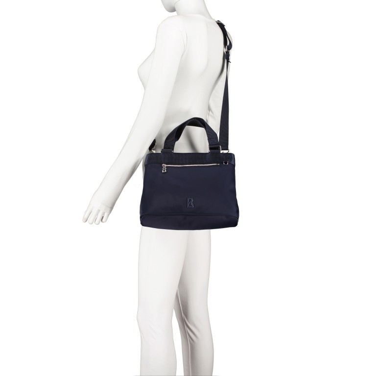 Handtasche Verbier Play Lois Dark Blue, Farbe: blau/petrol, Marke: Bogner, EAN: 4053533931439, Abmessungen in cm: 28.5x20.0x12.0, Bild 6 von 7