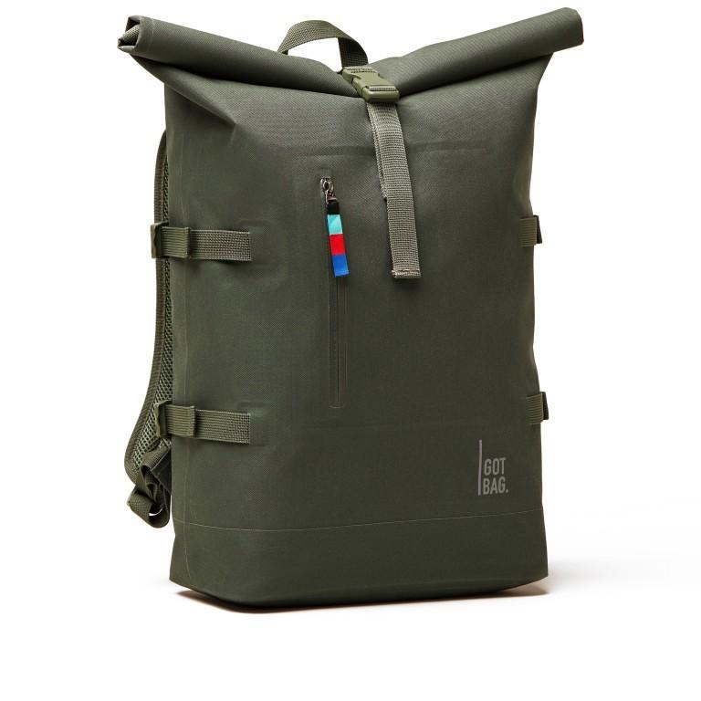 Rucksack Rolltop Algae, Farbe: grün/oliv, Marke: Got Bag, EAN: 4260483880230, Bild 2 von 11