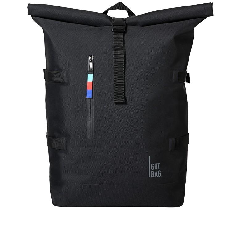 Rucksack Rolltop Black, Farbe: schwarz, Marke: Got Bag, EAN: 4260483880117, Bild 1 von 11