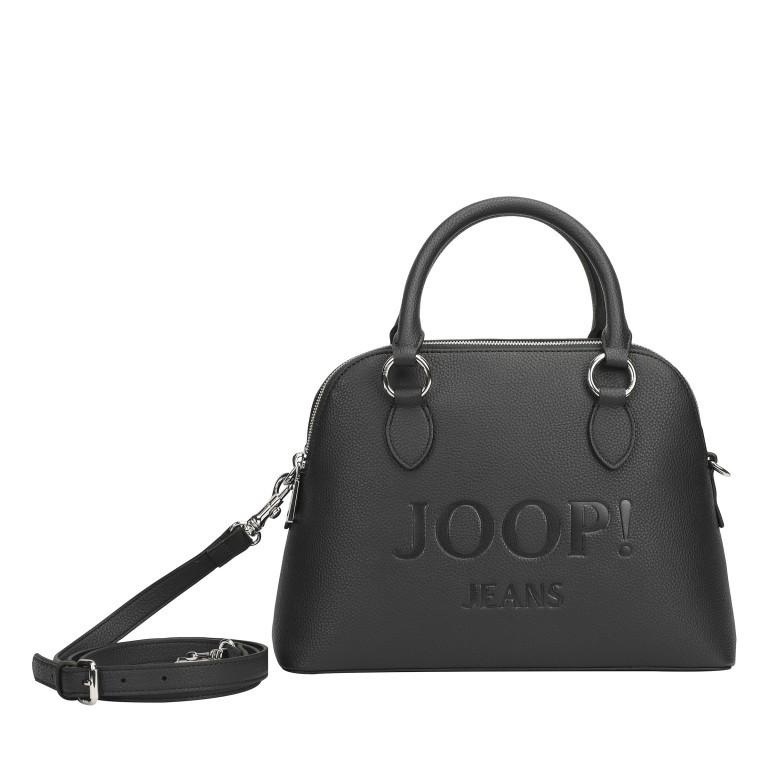 Handtasche Lettera Nava SHZ Black, Farbe: schwarz, Marke: Joop!, EAN: 4053533936083, Abmessungen in cm: 31.0x22.5x11.0, Bild 1 von 7