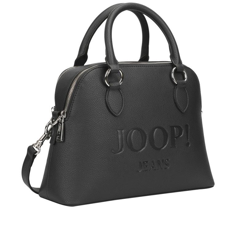 Handtasche Lettera Nava SHZ Black, Farbe: schwarz, Marke: Joop!, EAN: 4053533936083, Abmessungen in cm: 31.0x22.5x11.0, Bild 2 von 7