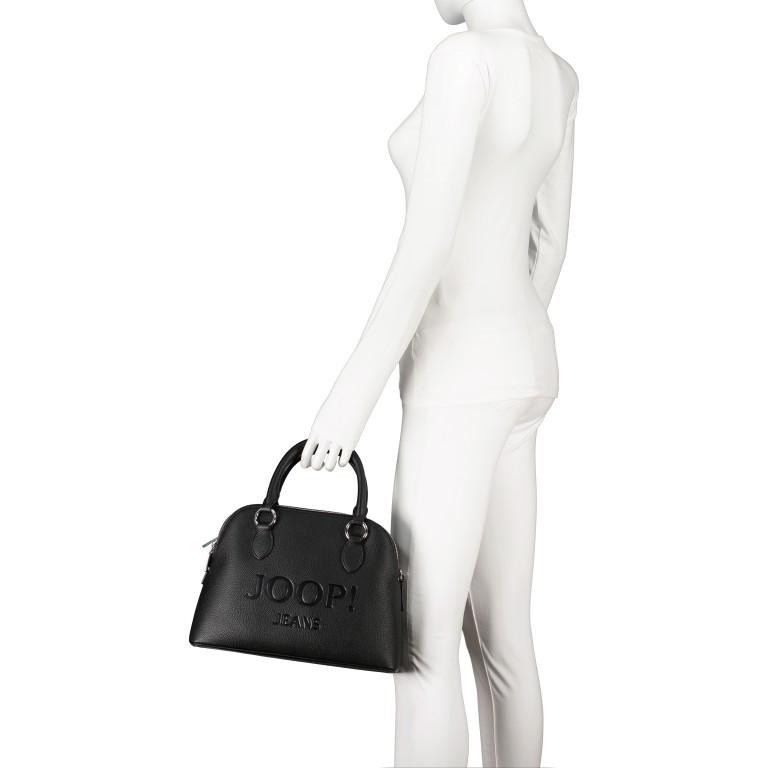 Handtasche Lettera Nava SHZ Black, Farbe: schwarz, Marke: Joop!, EAN: 4053533936083, Abmessungen in cm: 31.0x22.5x11.0, Bild 4 von 7