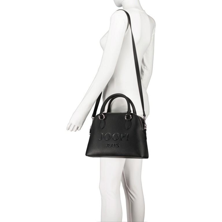 Handtasche Lettera Nava SHZ Black, Farbe: schwarz, Marke: Joop!, EAN: 4053533936083, Abmessungen in cm: 31.0x22.5x11.0, Bild 5 von 7