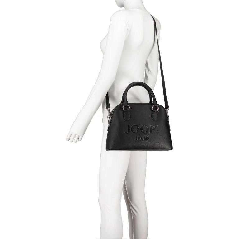 Handtasche Lettera Nava SHZ Black, Farbe: schwarz, Marke: Joop!, EAN: 4053533936083, Abmessungen in cm: 31.0x22.5x11.0, Bild 6 von 7