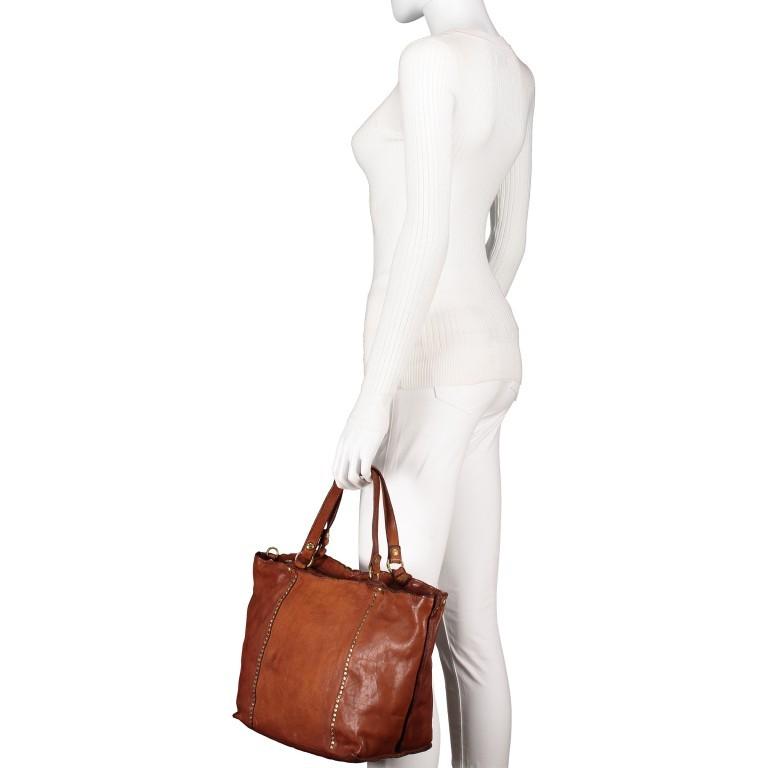 Handtasche Cognac, Farbe: cognac, Marke: Campomaggi, EAN: 8054302728331, Bild 4 von 9