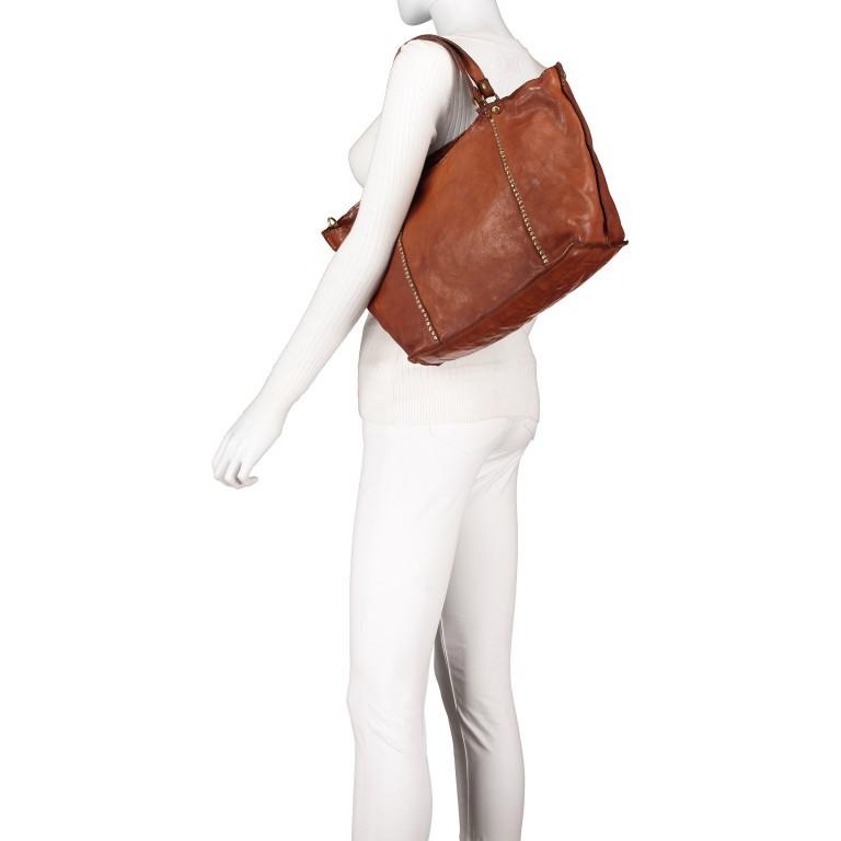 Handtasche Cognac, Farbe: cognac, Marke: Campomaggi, EAN: 8054302728331, Bild 5 von 9