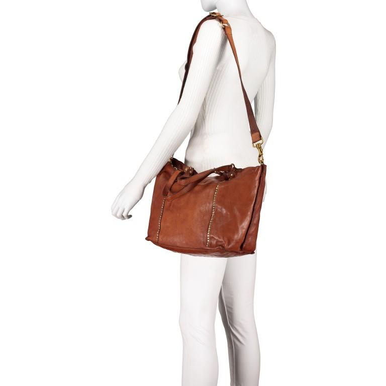 Handtasche Cognac, Farbe: cognac, Marke: Campomaggi, EAN: 8054302728331, Bild 6 von 9
