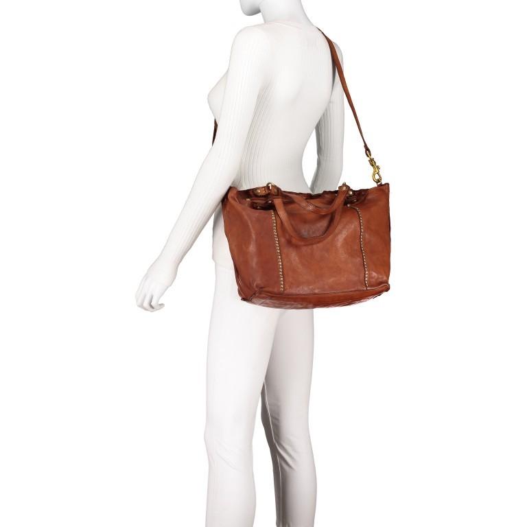 Handtasche Cognac, Farbe: cognac, Marke: Campomaggi, EAN: 8054302728331, Bild 7 von 9