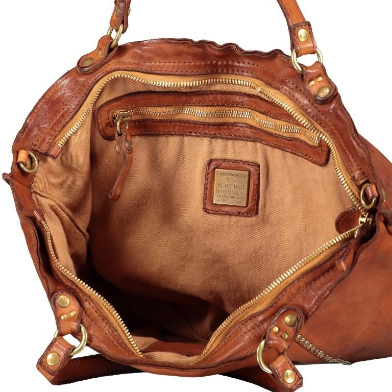 Handtasche Cognac, Farbe: cognac, Marke: Campomaggi, EAN: 8054302728331, Bild 8 von 9