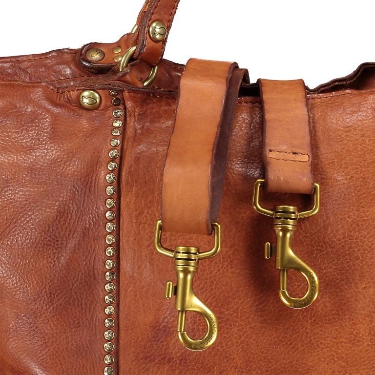 Handtasche Cognac, Farbe: cognac, Marke: Campomaggi, EAN: 8054302728331, Bild 9 von 9