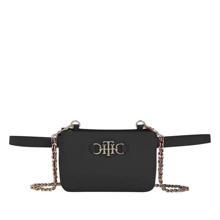 Umhängetasche / Gürteltasche Club Belt Bag Black, Farbe: schwarz, Marke: Tommy Hilfiger, EAN: 8720114663350, Abmessungen in cm: 19.0x12.7x4.0, Bild 1 von 1