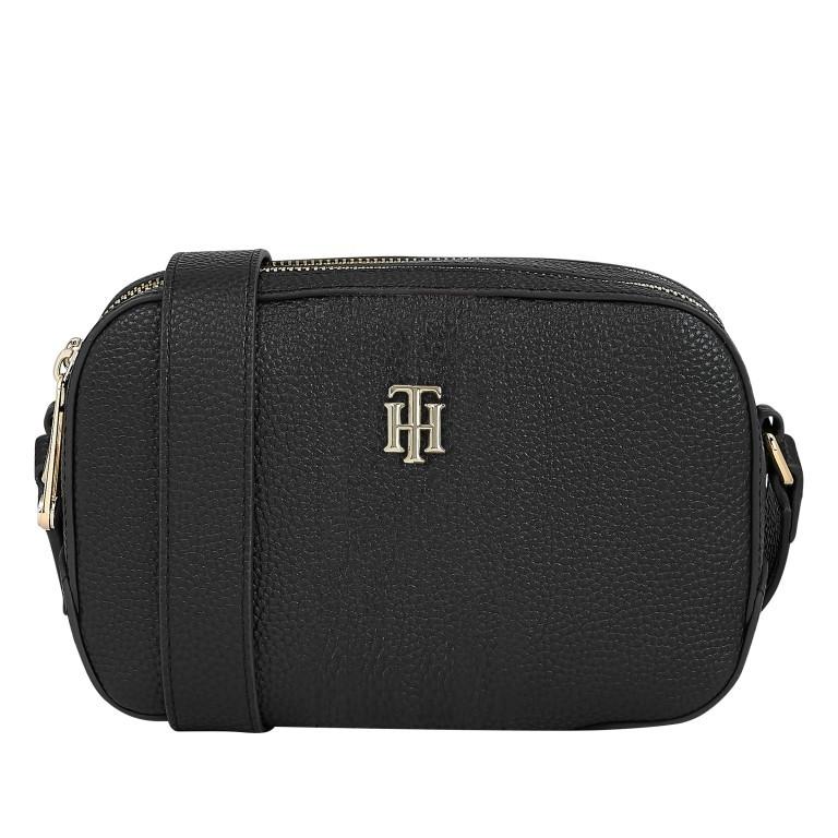 Umhängetasche Essence Camera Bag Black, Farbe: schwarz, Marke: Tommy Hilfiger, EAN: 8720114662223, Abmessungen in cm: 21.0x14.0x8.0, Bild 1 von 2