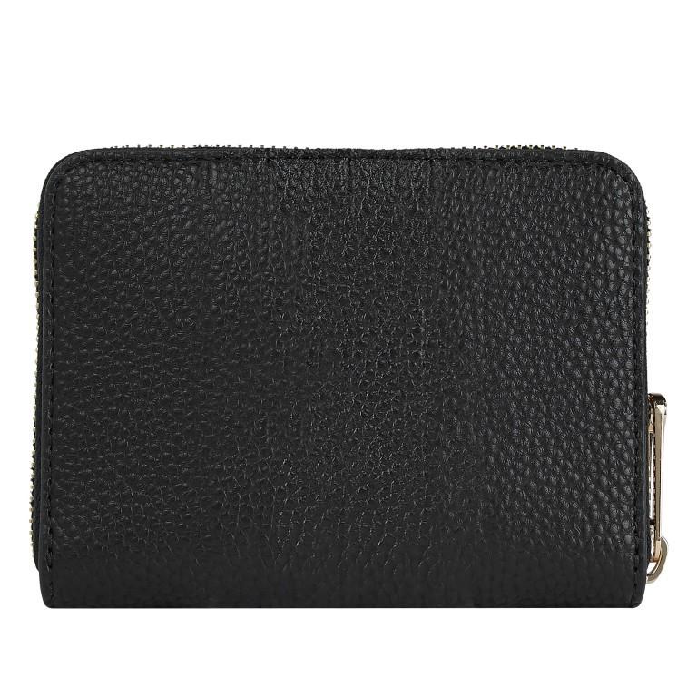 Geldbörse Essence Medium Zip Wallet Black, Farbe: schwarz, Marke: Tommy Hilfiger, EAN: 8720114660731, Abmessungen in cm: 13.0x10.0x2.5, Bild 2 von 2