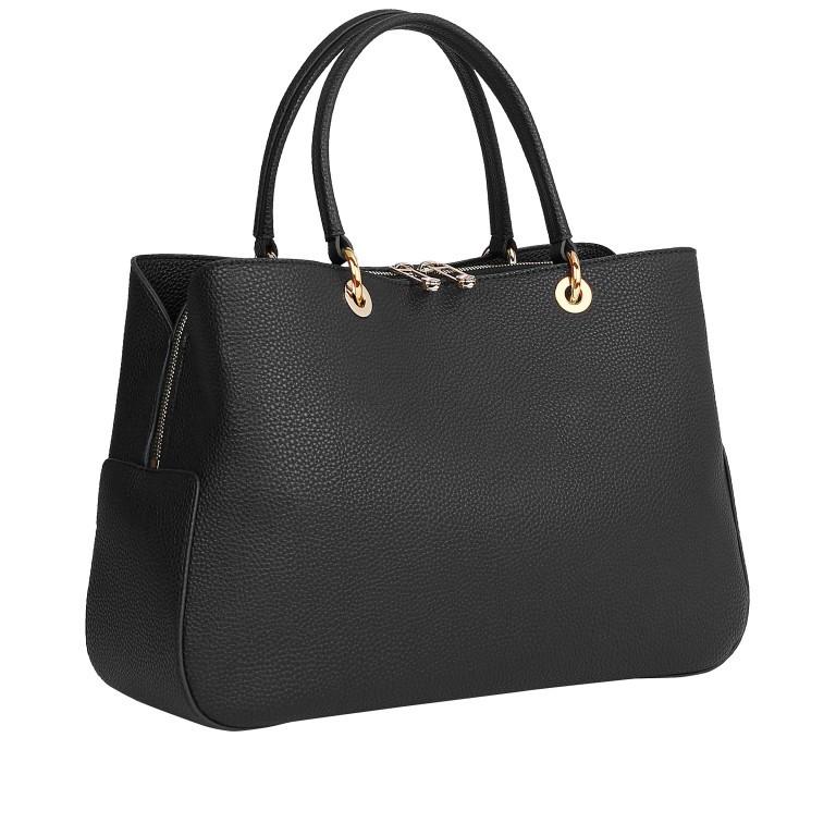 Handtasche Essence Satchel Black, Farbe: schwarz, Marke: Tommy Hilfiger, EAN: 8720114668447, Abmessungen in cm: 36.5x24.5x12.0, Bild 2 von 2