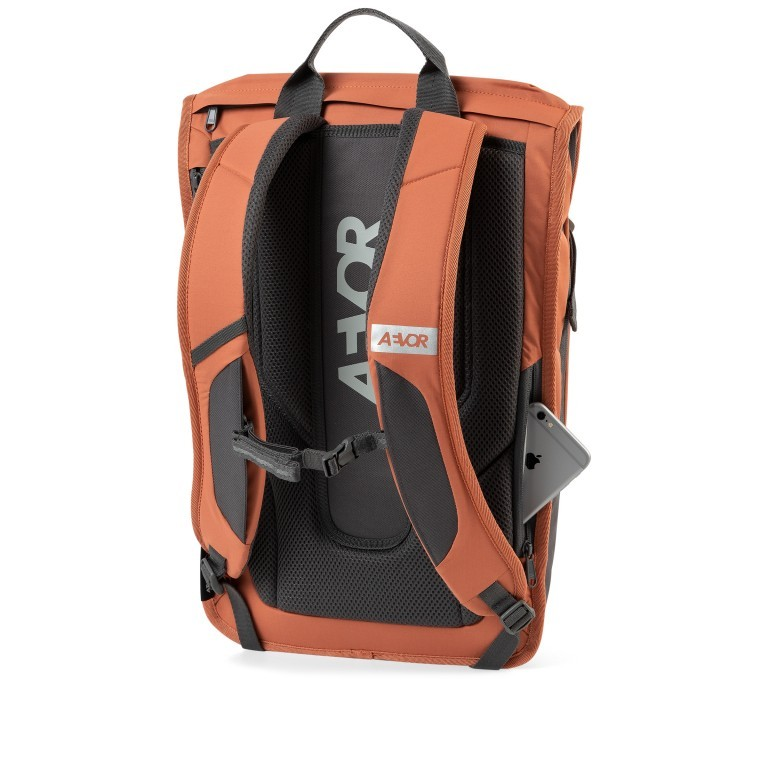 Rucksack Daypack Solid Matt Rip Maple, Farbe: orange, Marke: Aevor, EAN: 4057081115471, Abmessungen in cm: 34.0x48.0x14.0, Bild 4 von 12