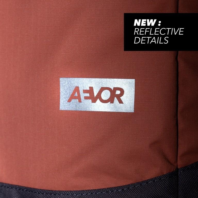 Rucksack Daypack Solid Matt Rip Maple, Farbe: orange, Marke: Aevor, EAN: 4057081115471, Abmessungen in cm: 34.0x48.0x14.0, Bild 11 von 12