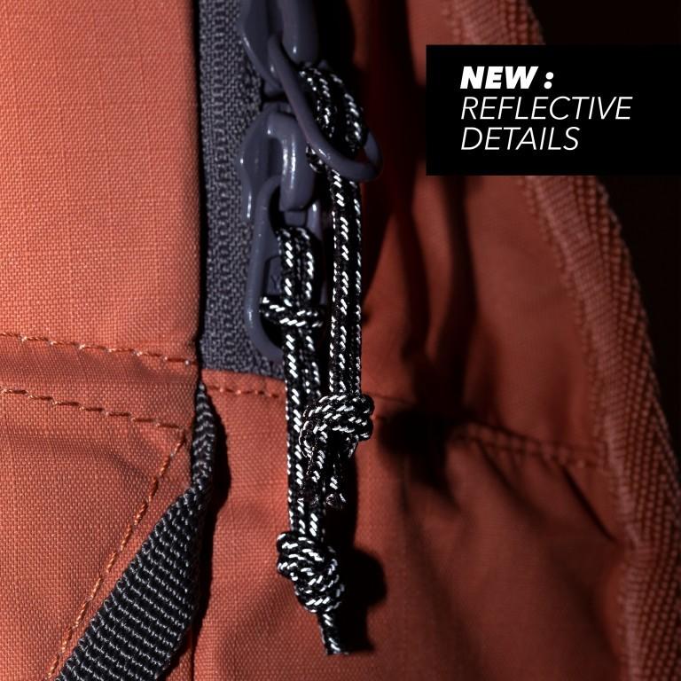 Rucksack Daypack Solid Matt Rip Maple, Farbe: orange, Marke: Aevor, EAN: 4057081115471, Abmessungen in cm: 34.0x48.0x14.0, Bild 12 von 12