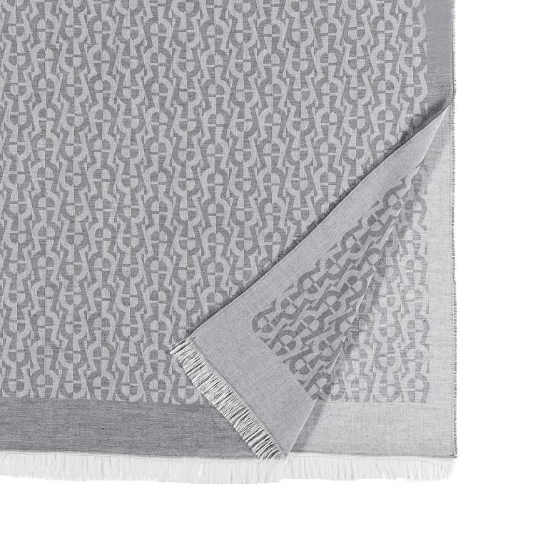 Schal Casual 242-591 Slate Grey, Farbe: grau, Marke: AIGNER, EAN: 4055539381423, Bild 6 von 6
