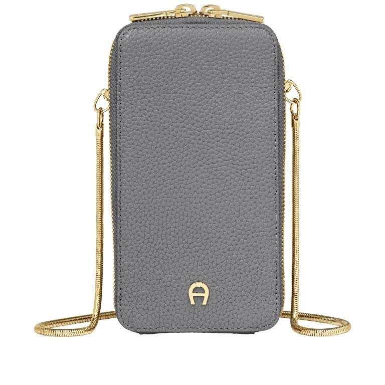 Handytasche Mobile Bag 163-139 Slate Grey, Farbe: grau, Marke: AIGNER, EAN: 4055539391767, Abmessungen in cm: 9.5x17.0x2.0, Bild 1 von 6