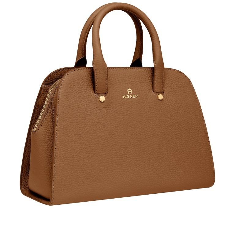 Handtasche Ivy 135-390 Dark Toffee Brown, Farbe: cognac, Marke: AIGNER, EAN: 4055539389269, Abmessungen in cm: 29.0x21.0x12.5, Bild 2 von 7