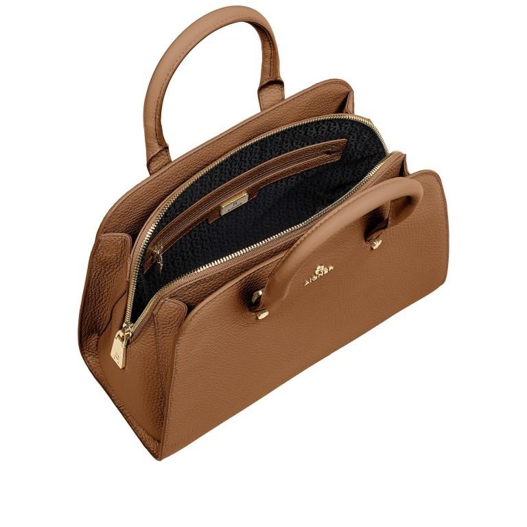 Handtasche Ivy 135-390 Dark Toffee Brown, Farbe: cognac, Marke: AIGNER, EAN: 4055539389269, Abmessungen in cm: 29.0x21.0x12.5, Bild 7 von 7