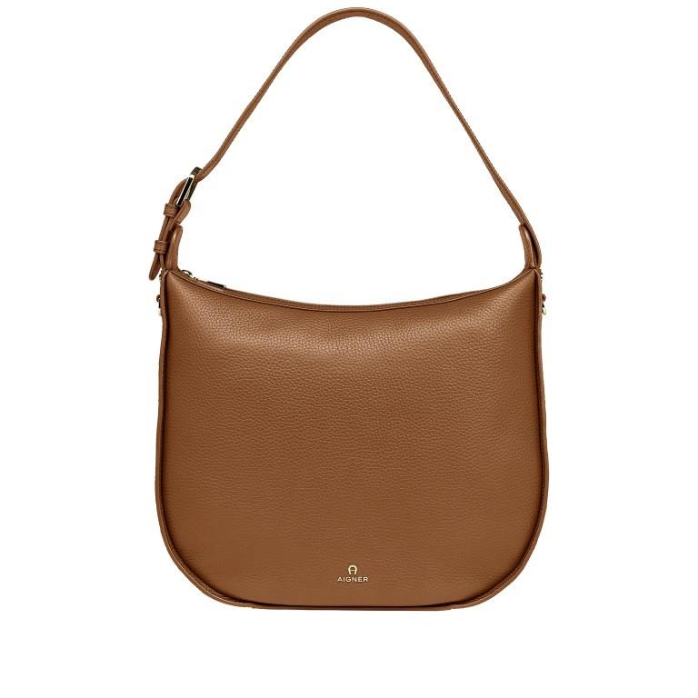 Beuteltasche Ivy M 136-759 Dark Toffee Brown, Farbe: cognac, Marke: AIGNER, EAN: 4055539389672, Abmessungen in cm: 36.0x35.0x10.0, Bild 1 von 7