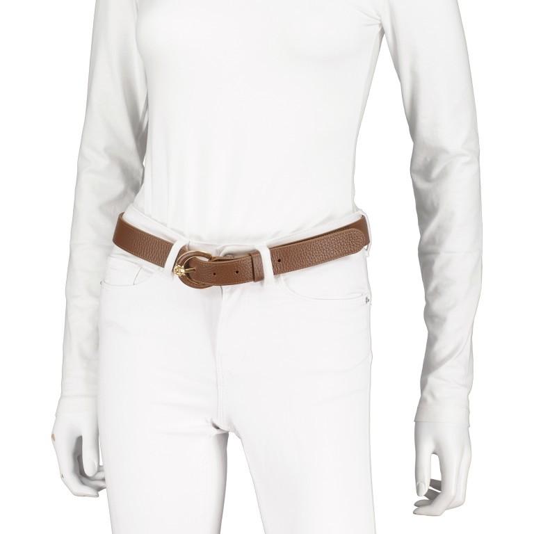 Gürtel Tara für Damen Dark Toffee Brown, Farbe: cognac, Marke: AIGNER, EAN: 4055539385223, Bild 3 von 4