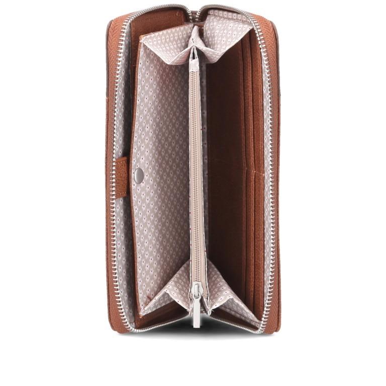 Geldbörse Eva Wallet EV2 Cognac, Farbe: cognac, Marke: Zwei, EAN: 4250257923812, Abmessungen in cm: 19.0x11.0x3.0, Bild 5 von 6