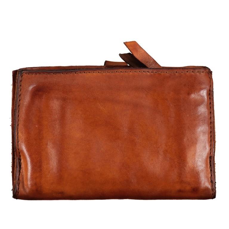 Geldbörse Bella Di Notte 2470-X0038 Cognac, Farbe: cognac, Marke: Campomaggi, EAN: 8054302043564, Abmessungen in cm: 15.5x10.0x3.0, Bild 3 von 5