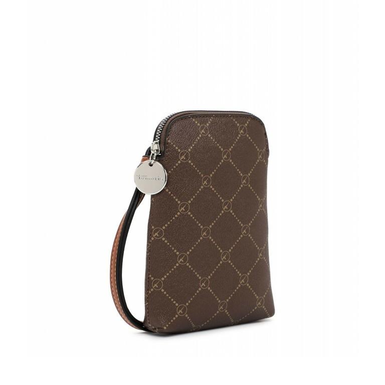Handytasche Anastasia Brown Cognac, Farbe: braun, Marke: Tamaris, EAN: 4063512034990, Abmessungen in cm: 13.5x20.0x3.5, Bild 2 von 5