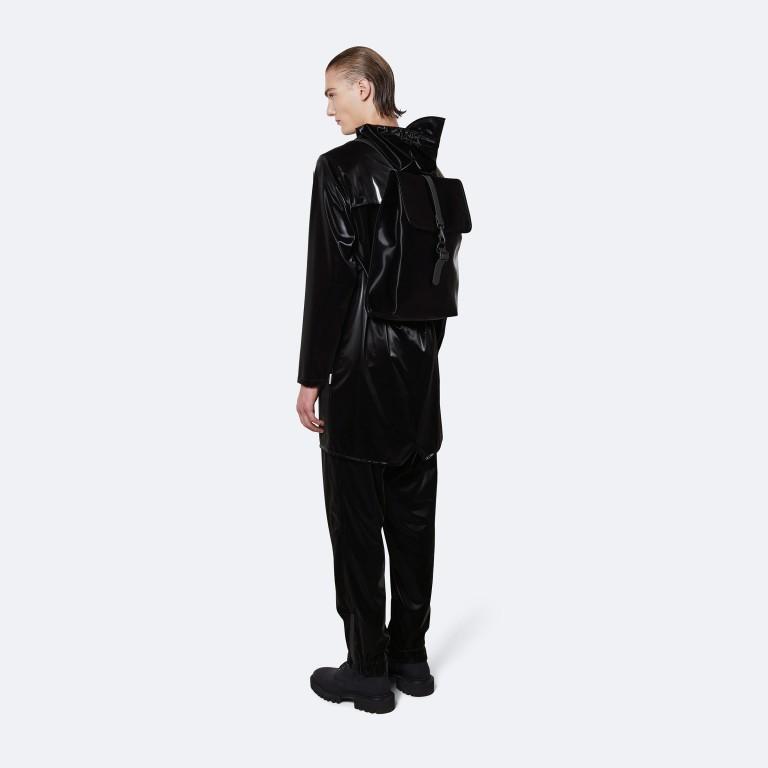 Rucksack Rucksack mit Laptopfach 15 Zoll Velvet Black, Farbe: schwarz, Marke: Rains, EAN: 5711747479060, Abmessungen in cm: 29.5x42.0x11.0, Bild 4 von 5