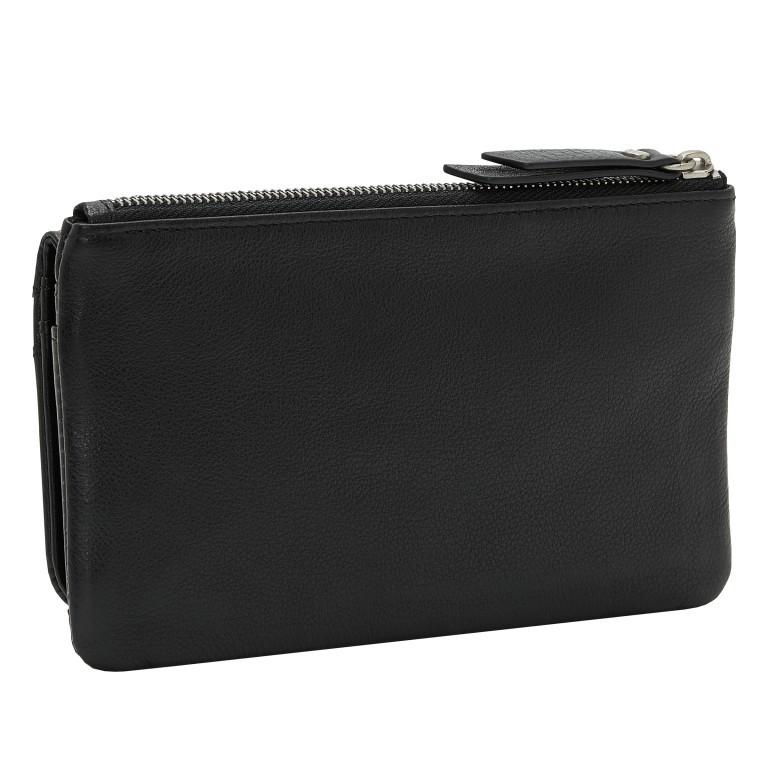 Geldbörse Basic Layla mit RFID-Schutz Black, Farbe: schwarz, Marke: Liebeskind Berlin, EAN: 4064657269834, Abmessungen in cm: 18.5x10.5x2.5, Bild 2 von 4